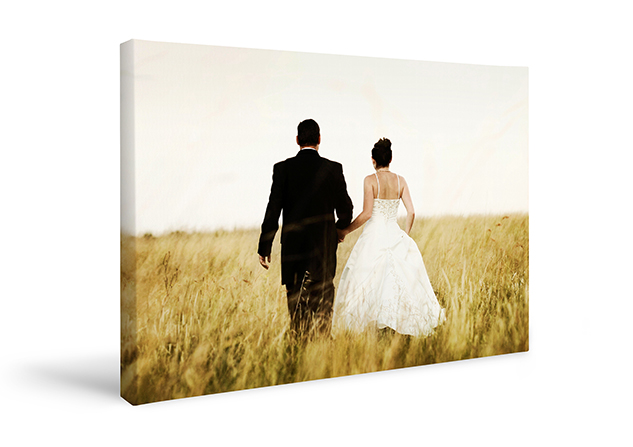 Wedding Websites - Block Mounting Canvas Print