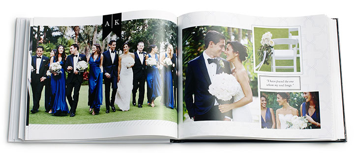 Printed Photo Book - Wedding Photographer