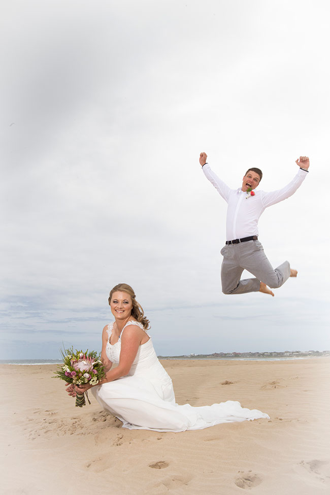 Wedding Photo in Cape St Francis South africa