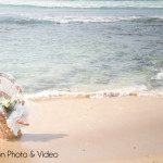 Beach wedding shoot