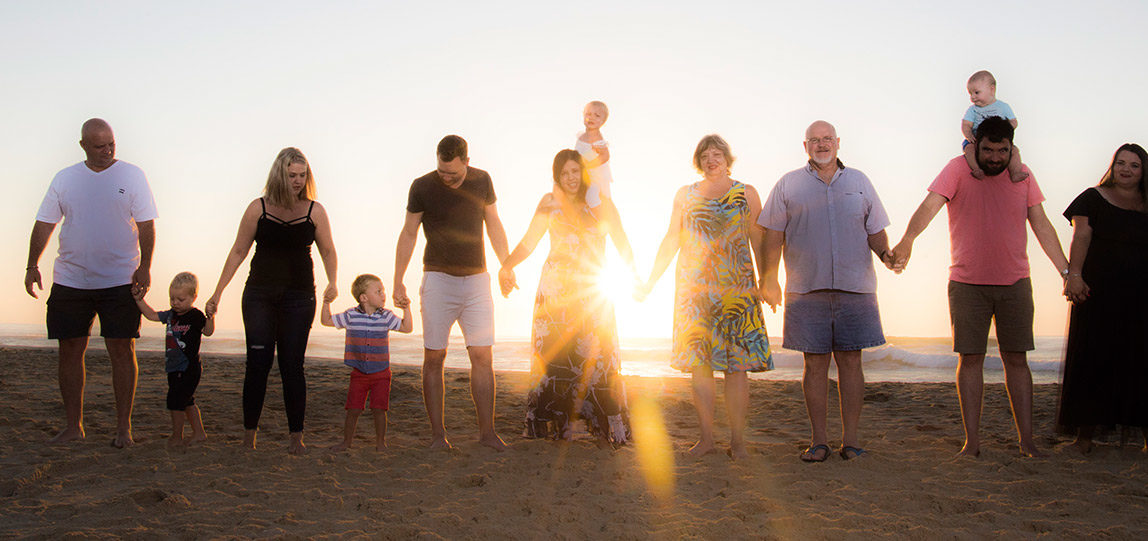 Family Photo shoots in Jeffreys Bay and Cape st Francis